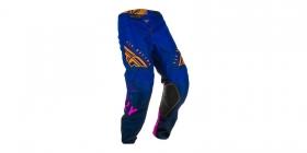 dětské motokrosové kalhoty Fly Racing Kinetic K220 modrá/modrá/oranžová
