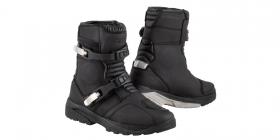 dámské boty na moto Kore Adventure Mid černé