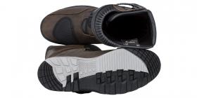 boty na motorku Kore Adventure 3.0 hnědé