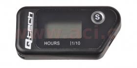 bezdrátový měřič motohodin s nulovatelným počítadlem Q-Tech