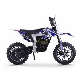 dětská elektrická motorka Mini Rocket Jackal 36V 500W Lithium modrá
