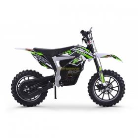 dětská elektrická motorka Mini Rocket Jackal 36V 500W Lithium zelená