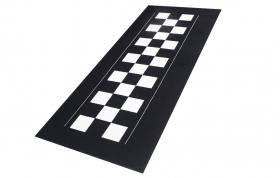 koberec pod motorku Šachovnice