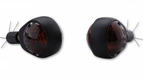 blinkry do řidítek černé