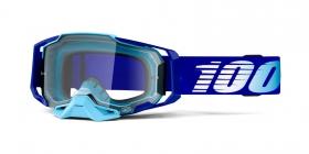 brýle na motokros 100% Armega Royal(čiré plexi s čepy pro slídy)