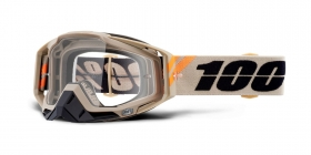 brýle na motokros 100% Racecraft Poliet(čiré plexi)