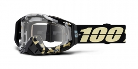 brýle na motokros 100% Racecraft Ergoflash(čiré plexi)