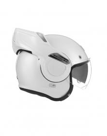 vyklápěcí přilba Nox Premium Stratos bílá