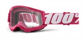 brýle na motokros 100% Strata 2 Fletcher čiré plexi