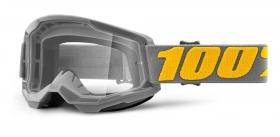 brýle na motokros 100% Strata 2 Izipizi čiré plexi