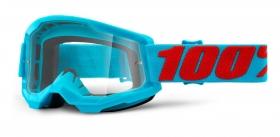 brýle na motokros 100% Strata 2 Summit čiré plexi