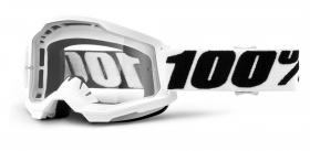 brýle na motokros 100% Strata 2 Everest čiré plexi