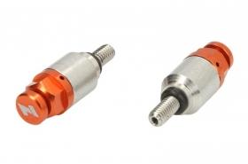 odvzdušňovací ventilky do vidlic oranžové - závit M4