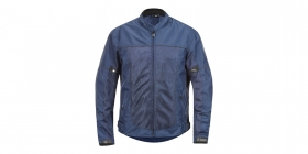 textilní moto bunda 4Square Mercury modrá