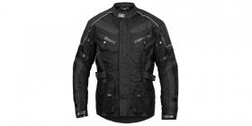 textilní moto bunda 4Square Discovery černá