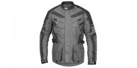 textilní moto bunda 4Square Discovery šedá