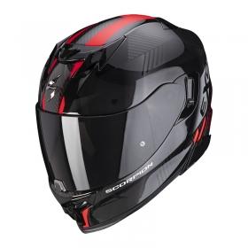 integrální přilba Scorpion EXO 520 Air Laten černo/červená