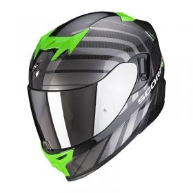 integrální přilba Scorpion EXO 520 Air Shade černo/zelená
