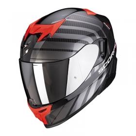 integrální přilba Scorpion EXO 520 Air Shade perleťově černo/červená