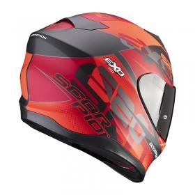 integrální přilba Scorpion EXO 520 Air Cover matná černo/červená