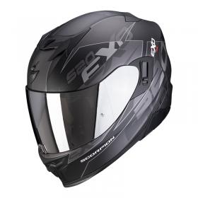 integrální přilba Scorpion EXO 520 Air Cover matná černo/stříbrná