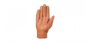 dámské rukavice na motorku 4Square Dandy světle hnědé