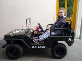 dětská buggy Mini Jeep Willys 150ccm