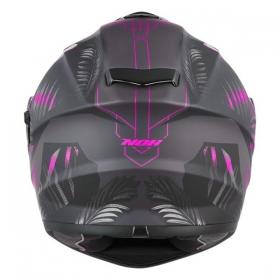 integrální přilba Nox N918 Jungle černá matná/růžová