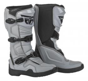 boty na motokros Fly Racing New Maverik šedá/černá