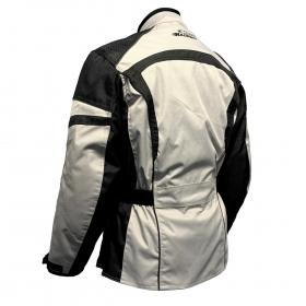 dámská moto bunda MH světle šedá