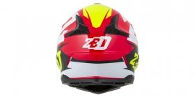 dětská přilba Zed X1.9 červená/žlutá fluo/černá/bílá