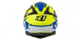 dětská přilba Zed X1.9 modrá/žlutá fluo/černá/bílá