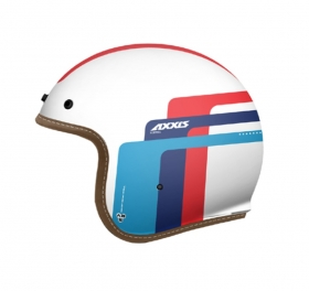 otevřená helma Axxis Hornet SV lesklá perleťová modrá