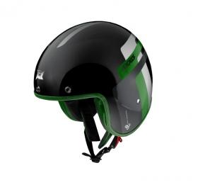 otevřená helma Axxis Hornet SV lesklá zelená