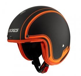 otevřená helma Axxis Hornet SV matná oranžová