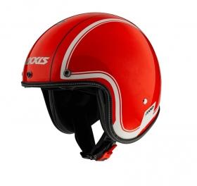 otevřená helma Axxis Hornet SV lesklá červená fluo