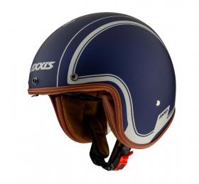 otevřená helma Axxis Hornet SV matná modrá