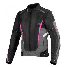 dámská moto bunda SECA Airflow II černo/růžová