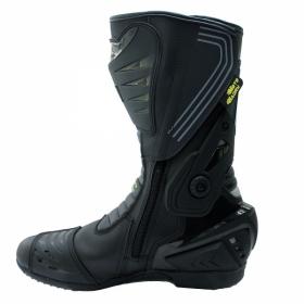 boty na motorku Racing Boot černé