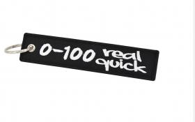 klíčenka textilní 0 - 100 Real quick